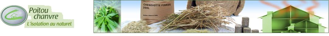 Poitou-chanvre : l'isolation au naturel